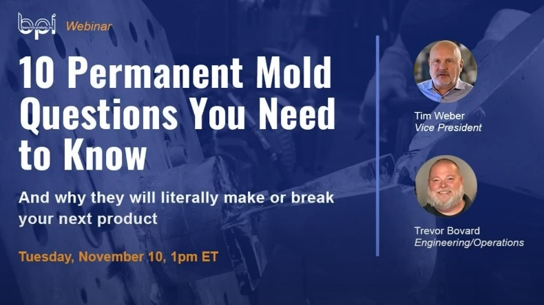 10 permanent mold questions you need to know