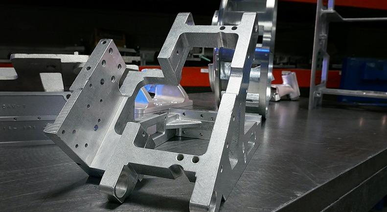 machined part