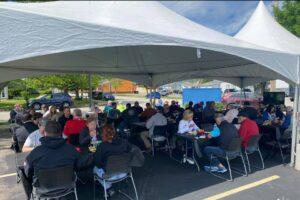 company picnic event