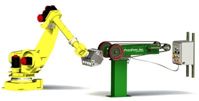 polishing robot diagram