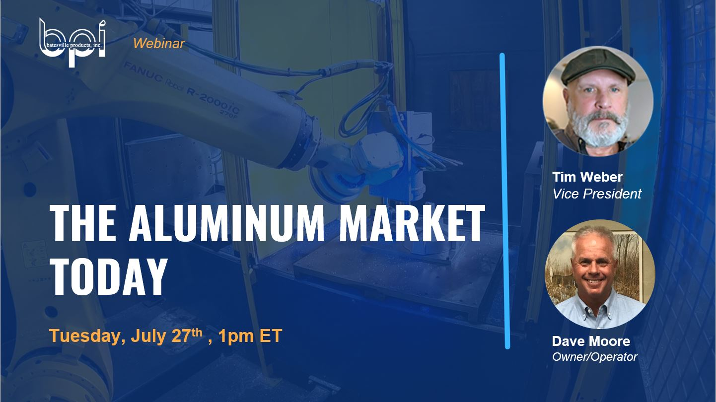the aluminum market today