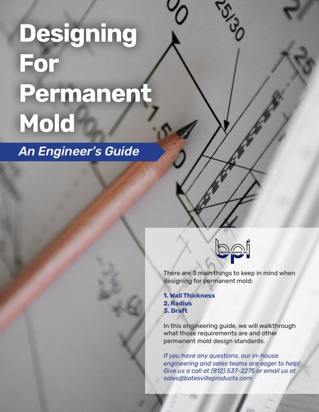 how to design for permanent mold