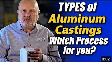 types of aluminum casting processes