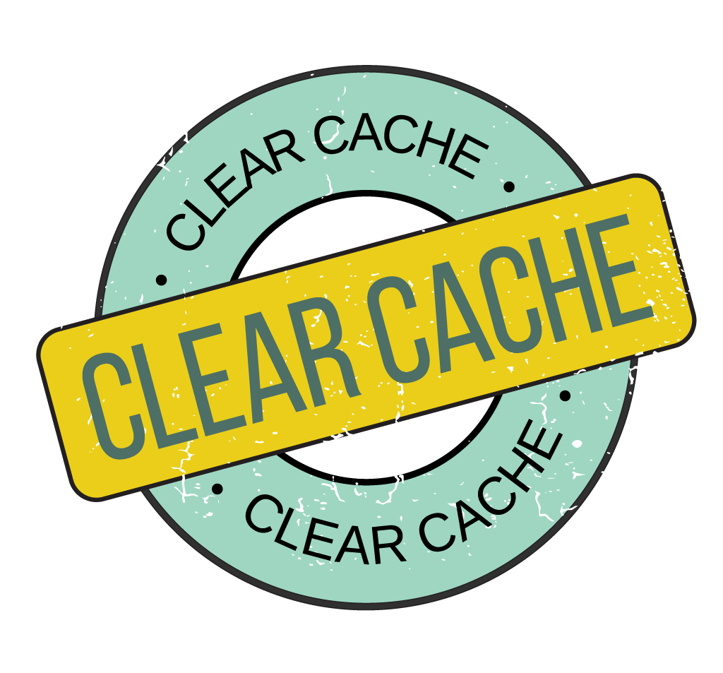 Clear Cache Graphic