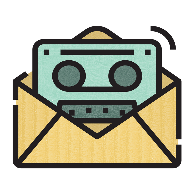 voicemail and email illustration