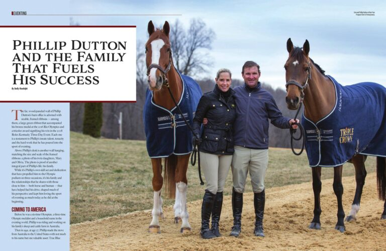 Sidelines – Phillip Dutton and the Family That Fuels His Success