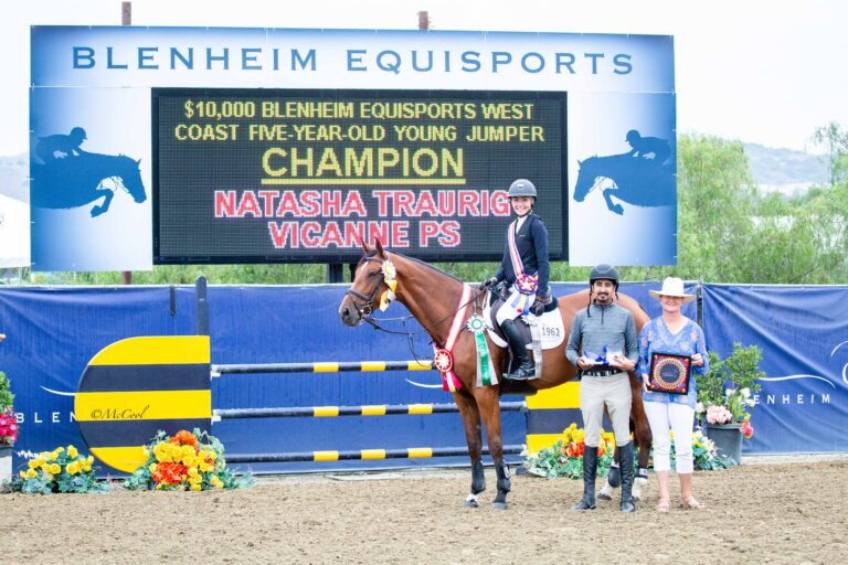 Future Stars Crowned in the $60,000 Blenheim EquiSports West Coast Young Jumpers Championships
