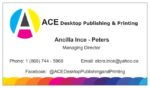 ACE Desktop Publishing and Printing