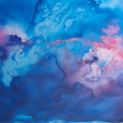 Los Cielos, Acrylic Ink 36 in. x 48 in.