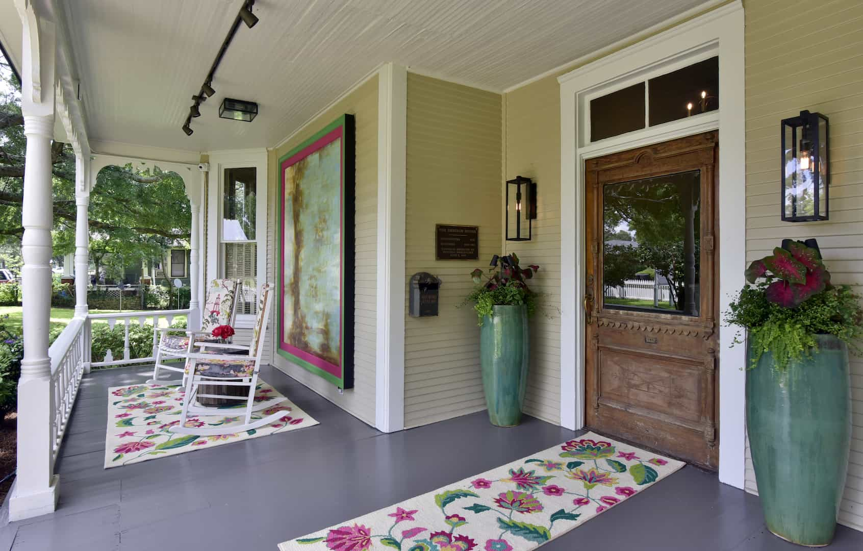 Front Door at GraceWay Recovery Main House