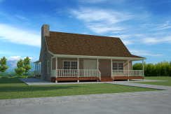 2126 sq ft Hillside Cabin w/ Open Floor Plan