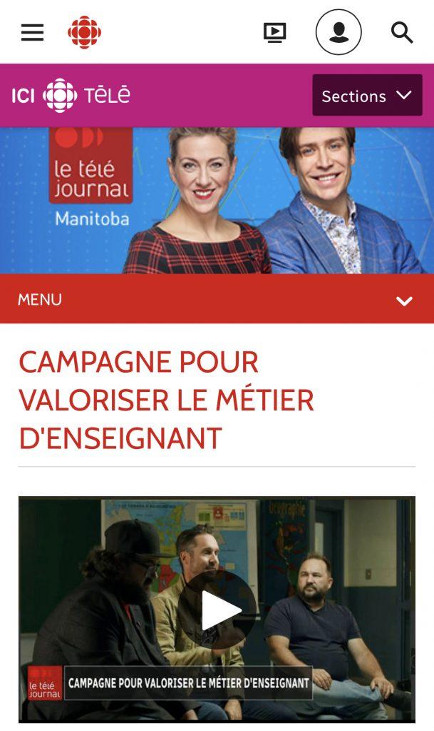 Retombée médiatique pour la Fédération canadienne des enseignantes et des enseignants