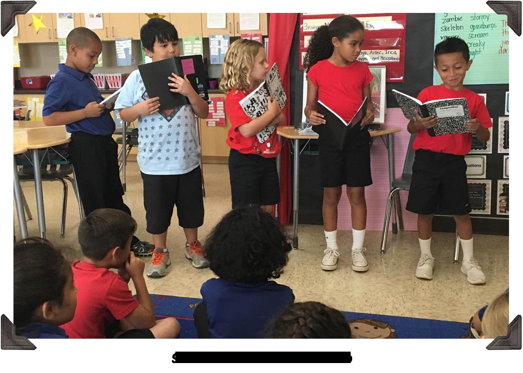 Scholars in the classroom