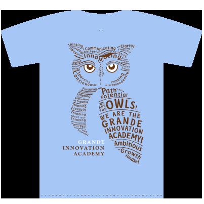 Owl Words T-shirt