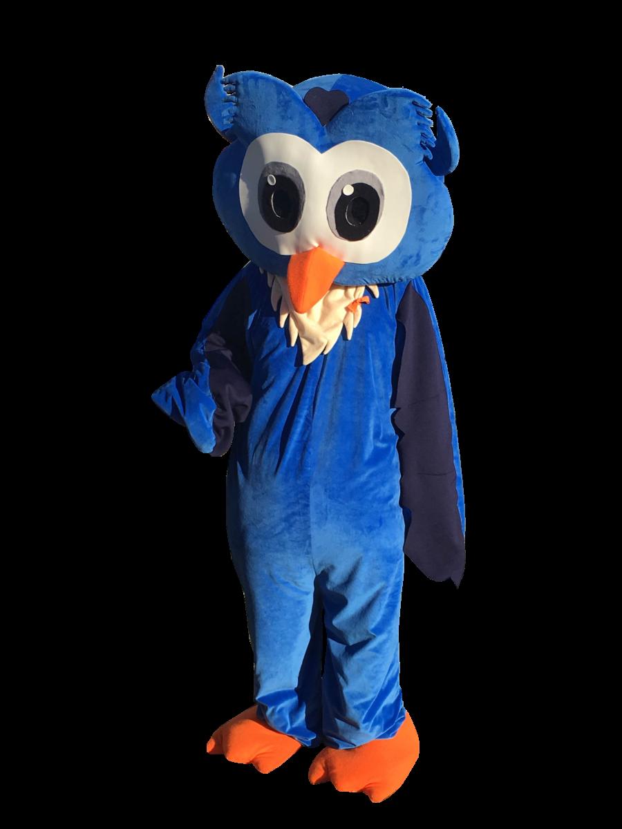 Owlbert the Mascot