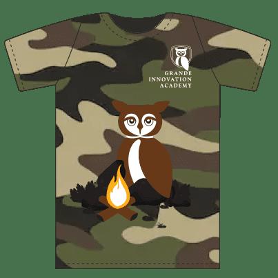 Tshirts - Camping Camo