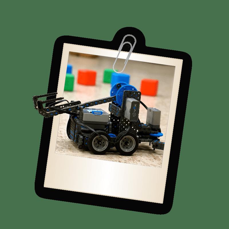 Picture of robotic legos