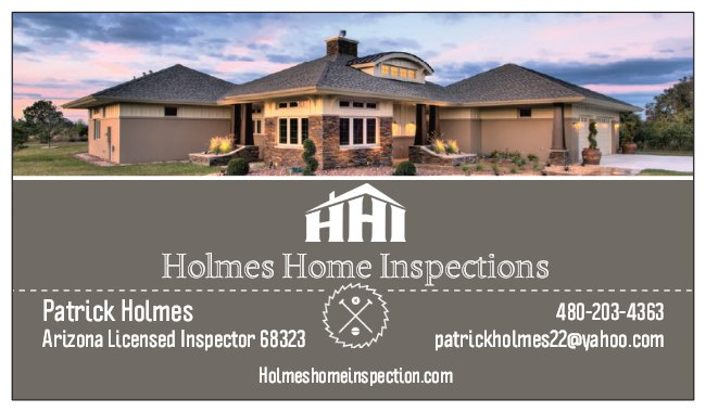 Holmes Home Inspections