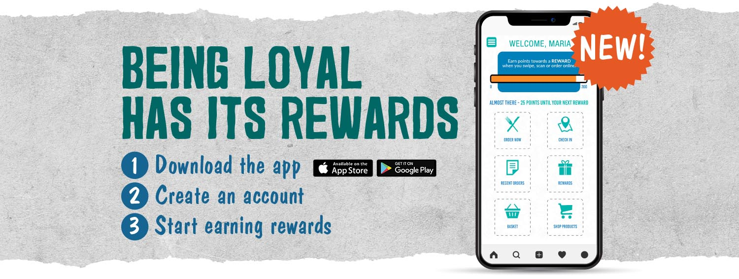 Join our Rewards Club!