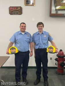 New NVFD firefighters