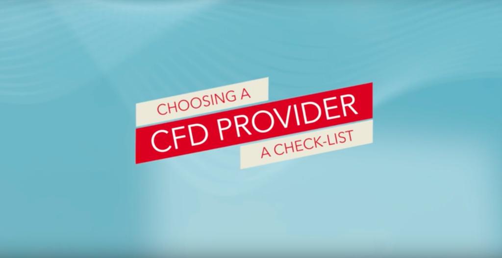 Choosing a CFD provider