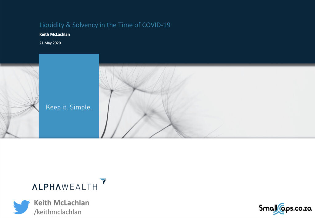 Solvency and liquidity in the time of COVID-19