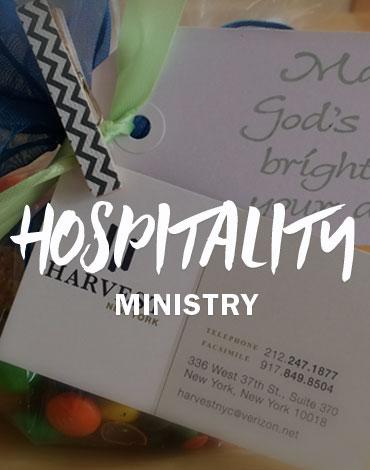 Hospitality Ministry | Harvest Christian Fellowship