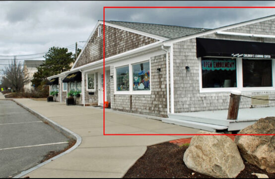 Corner Retail Spot with great Visibility ~  64 Enterprise Road, Hyannis