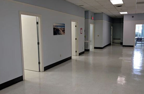 5,000 sq. ft. built out for medical/ social services