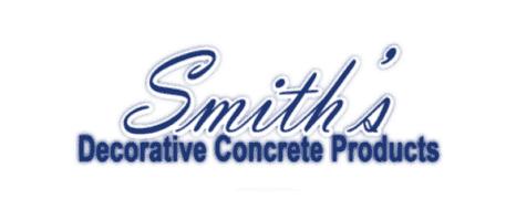 Smiths Decorative Concrete Products - Logo