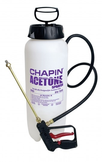 The Chapin 21127XP Acetone Sprayer line is specifically designed and equipped for the Decorative Concrete Professional