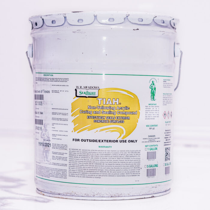TIAH-Non-yellowing acrylic curing and sealing compound