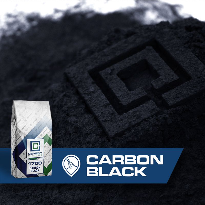Carbon Black - Raw Pigment for Concrete by Cement Colors