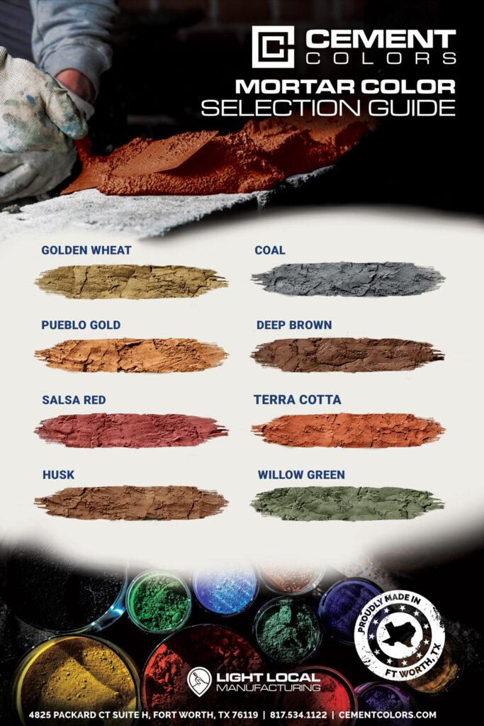 mortar-color-chart