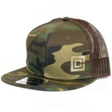 Camo Hat with Emblem