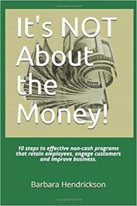 It's NOT About the Money! book cover.