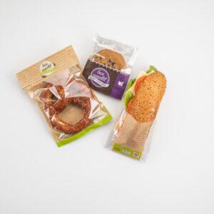 Baked goods flexible packaging