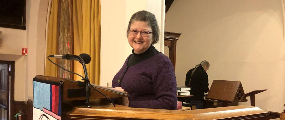 Antonia Andreoli, Today's Worship Leader