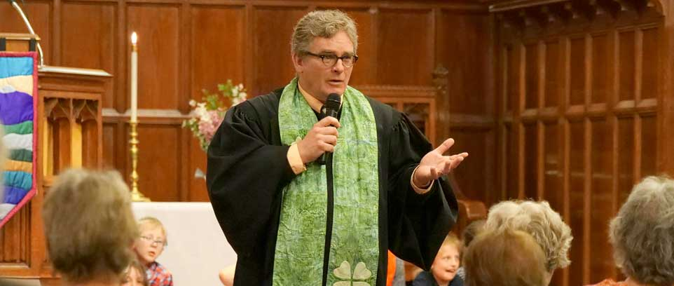 Meet Rev. Michael F. Hall