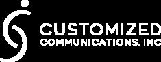 Customized Communication Inc Logo Horizontal