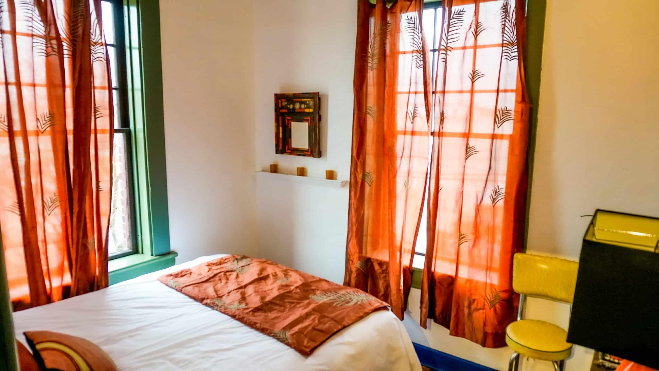 Designer Apartment Rental in Providence, RI Bedroom