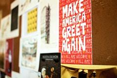 Postcard Make America Greet Again