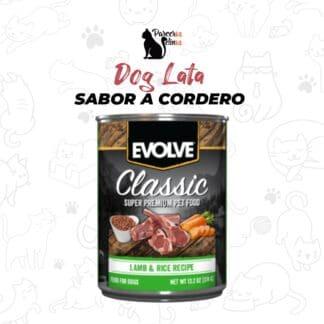 DOG LATA CORDERO parceros felinos