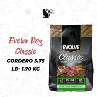 EVOLVE DOG CLASSIC CORDERO 3.75 LB - 1.7 KG