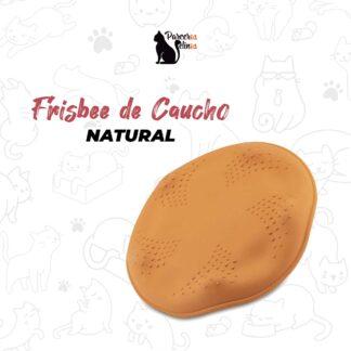 FRISBEE DE CAUCHO NATURAL