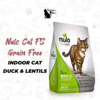 NULO CAT FS GRAIN FREE INDOOR CAT DUCK & LENTILS