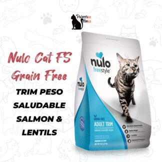 NULO CAT FS GRAIN FREE TRIM PESO SALUDABLE SALMON & LENTILS