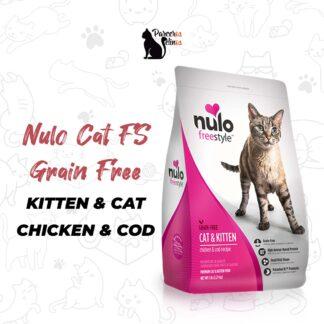 Nulo Cat FS Grain Free KITTEN & CAT CHICKEN & COD