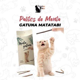 Palitos de Menta Gatuna Matatabi