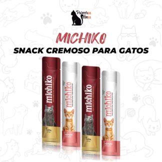 MICHIKO Snack cremoso para Gatos